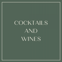 Cocktails and Wine